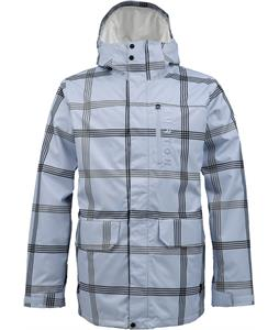 Burton Mob System Snowboard Jacket Exeter Prospect Plaid