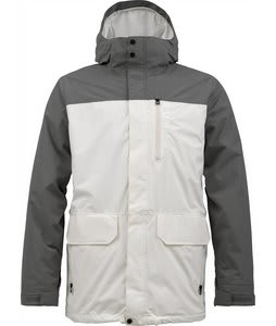 Burton Mob System Snowboard Jacket Jetpack/Stout White