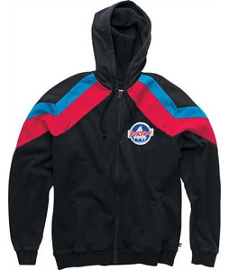 Burton Mogul Fullzip Hoodie True Black
