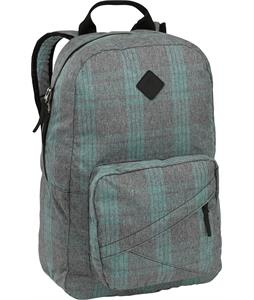 Burton Monette Backpack Misty Tidal Plaid 25L