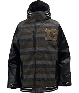 Burton Mongrel Snowboard Jacket Heather Twill/Black