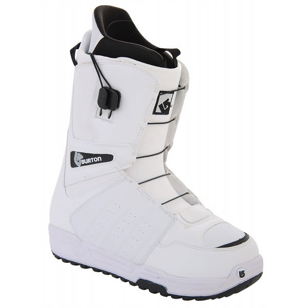 9 1/2 Burton Moto Snowboard Boots White/Black