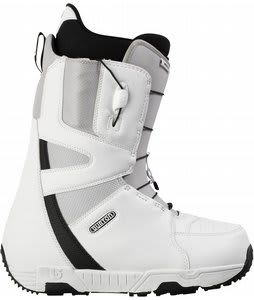 Burton Moto Snowboard Boots White/Gray/Black