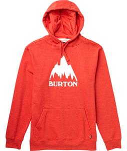 Burton Mountain Logo Recycle Pullover Hoodie Heather Cardinal