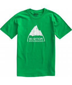 Burton Mountain Logo T-Shirt Kelly
