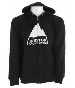 Burton Mountain Logo Full Zip Hoodie