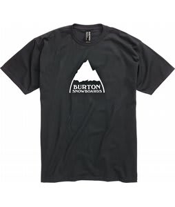 Burton Mountain Logo T-Shirt True Black