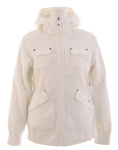Burton Mutiny Snowboard Jacket Bright White