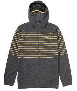 Burton Napper Premium Full-Zip Hoodie Heather True Black