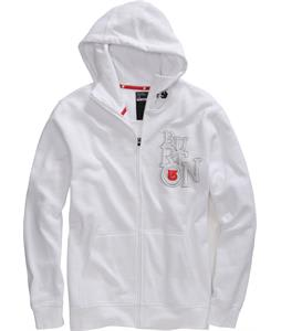 Burton Newport Full-Zip Hoodie Bright White