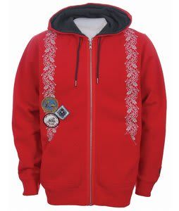 Burton Noname Hoodie Firecracker Red