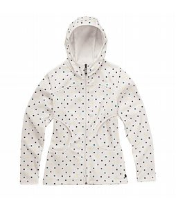 Burton North Star Fleece Jacket Multi Polka Squares