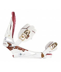 Burton Notori Snowboard Bindings White
