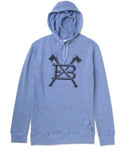 Burton Old Faithful Pullover Hoodie Heather Cobalt Blue