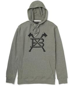 Burton Old Faithful Pullover Hoodie Heather Olive