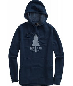 Burton Old Faithful Pull Over Hoodie Midnight Blue