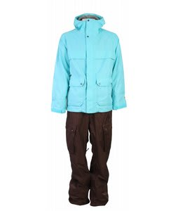 Burton One Piece Snow Suit Gmp CuracaoMocha Mens