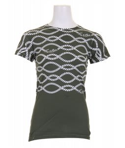 Burton On The Rope T-Shirt Martini Olive