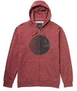 Burton Orion Full-Zip Hoodie Heather Crimson