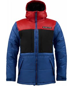 Burton Payday Puffy Snowboard Jacket Royals Colorblock