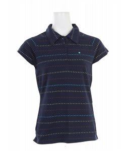 Burton Peacemaker Polo Shirt Night Loch Blue