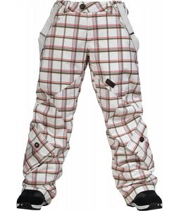 Burton Pendant Snowboard Pants Bright White Rebel Pld