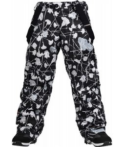 Burton Pendant Snowboard Pants Carnations True Black