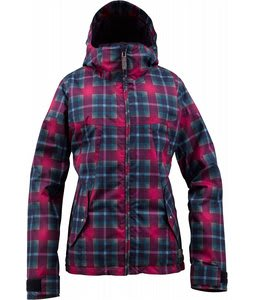 Burton Penelope Snowboard Jacket Hex Radiant Plaid