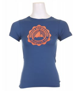Burton Phys Ed T-Shirt Deep Sea Blue