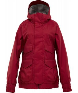 Burton Pineview System Snowboard Jacket Garnet