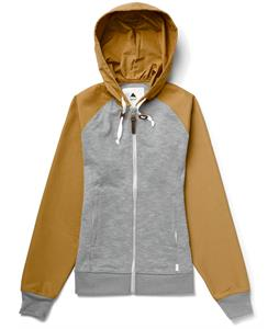 Burton Piper Hoodie Pewter Heather