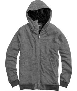 Burton Pitch Fullzip Hoodie Heather True Black
