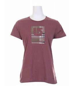Burton Plaidilicious T-Shirt Mahogany Heather
