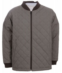 Burton Plaid Quilt Insulated Jacket Mocha