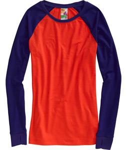 Burton Player L/S Baselayer Top Twilight/Fox Hunt