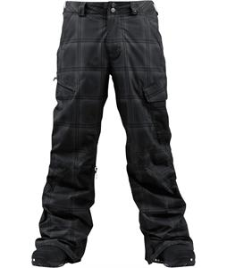 Burton Poacher Insulated Snowboard Pants True Black/Ghost Plaid