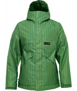 Burton Poacher Snowboard Jacket Astro Turf Chalk Stripe