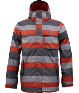 Burton Poacher Snowboard Jacket Marauder Servus Stripe