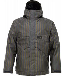 Burton Poacher Snowboard Jacket Quarry Chalk Stripe