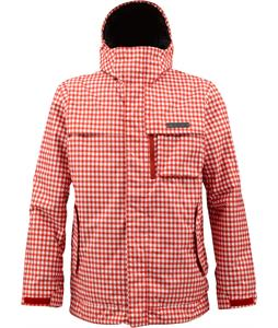 Burton Poacher Snowboard Jacket Red Gingham