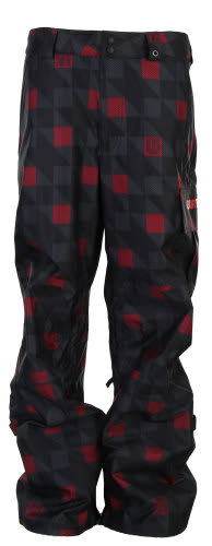 Burton Poacher Snowboard Pants True Black Native