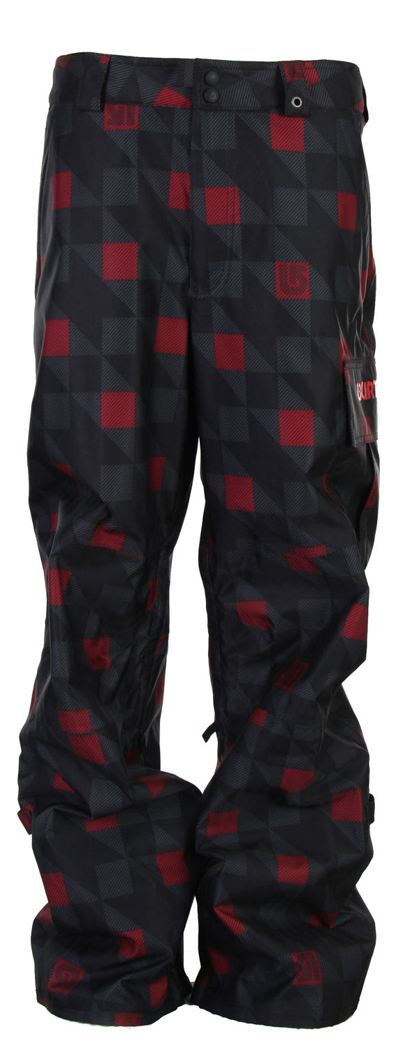 Shop for Burton Poacher Snowboard Pants True Black Native - Men's