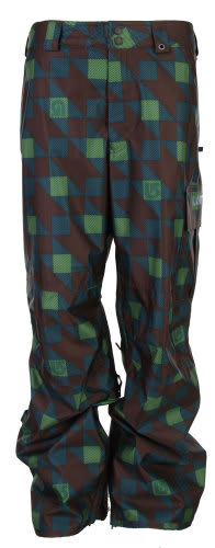 Burton Poacher Snowboard Pants Mocha Native Plaid