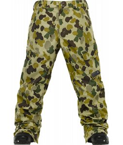 Burton Poacher Snowboard Pants Grayeen Fowl Camo