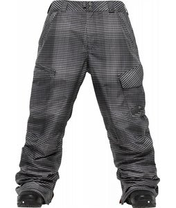 Burton Poacher Snowboard Pants True Black/Gingham Fade