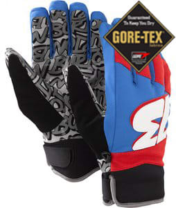 Burton Podium Gloves True Black/Heron Blue/Marauder