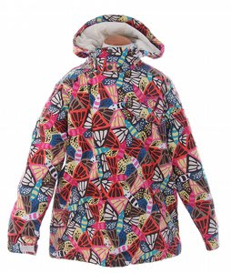 Burton Perception Snowboard Jacket Butterfly Prnt
