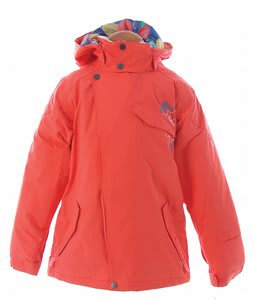 Burton Perception Snowboard Jacket Hot Coral