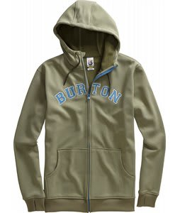 Burton Premium Bonded Hoodie Trench Green Heather