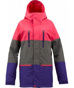 Burton Prism Gore-Tex Snowboard Jacket Heathers Colorblock